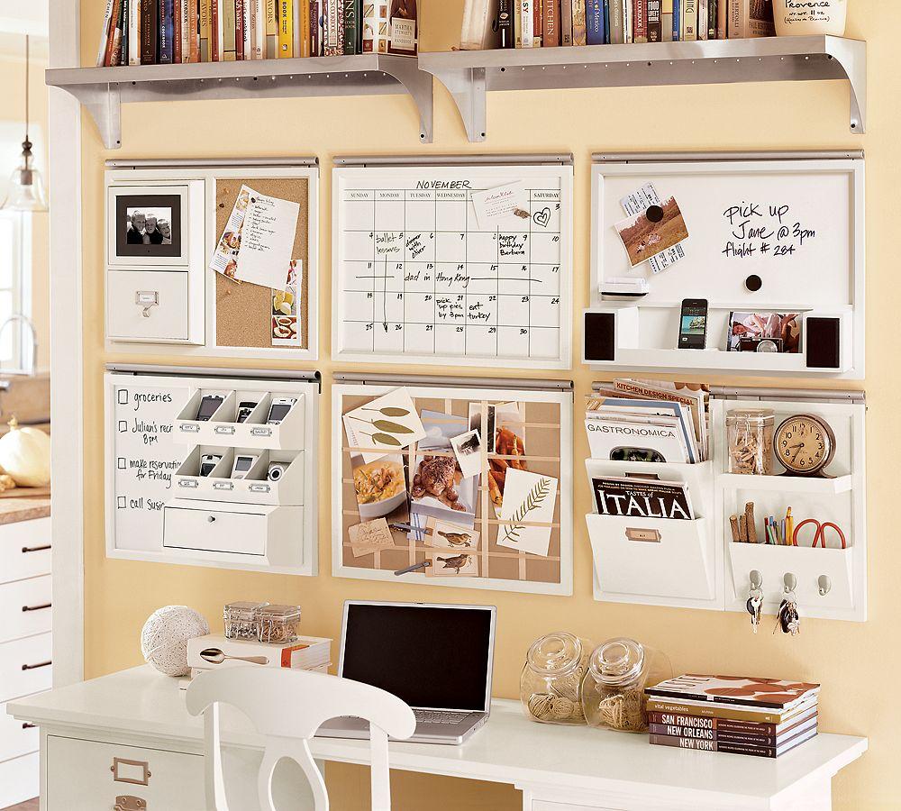 Mini uffici casalinghi ecco i nostri preferiti c 39 era for Small office kitchen ideas